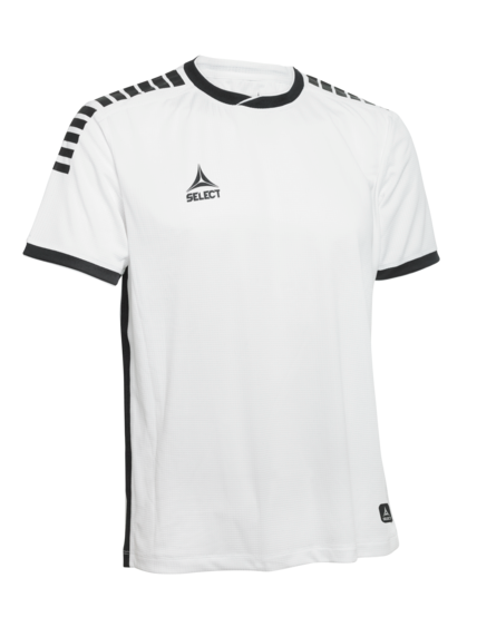 Monaco Player Shirt in White-Black from SELECT