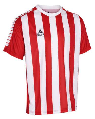 Argentina player shirt striped - Rouge/Blanc