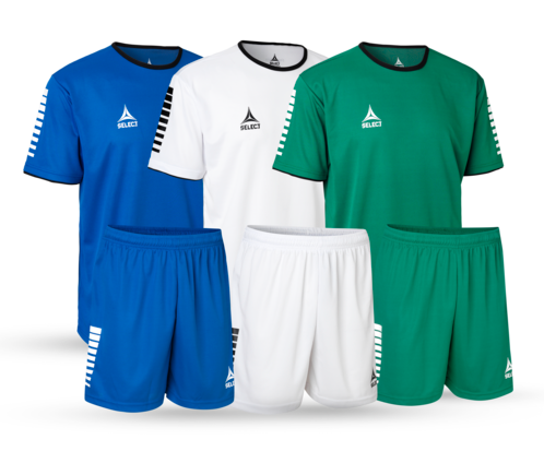 Italy: Player shirts and shorts