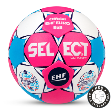 The Official Match Ball for the Women's EHF EURO 2018 in France