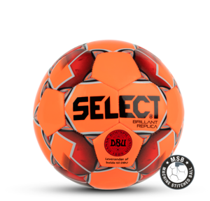 Brillant Replica Mini i orange - DBU - Minifodbold fra SELECT