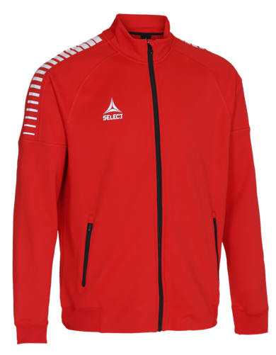 BRAZIL ZIP JACKET - rouge