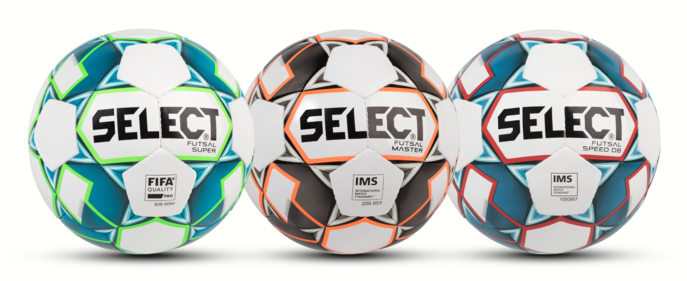 The FUTSAL collection from SELECT