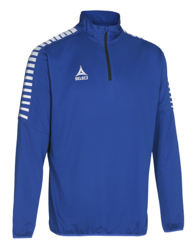 Argentina Training Sweat 1/2_Zip - niebieski