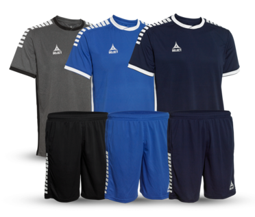 Monaco: High-end player shirts and shorts
