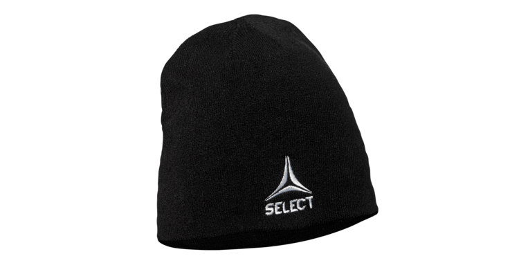 Knitted hat from Select - Black